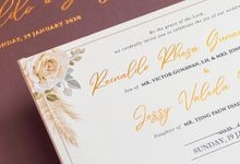 The Wedding of Reinaldo & Jessy by SentimeterCard
