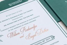 The Wedding of Wilson & Eagel by SentimeterCard