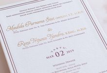 The Wedding of Reza & Molly by SentimeterCard