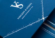 The Wedding of Vincent & Steffi by SentimeterCard