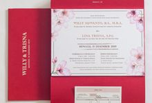 The Wedding of Willy & Trisna by SentimeterCard