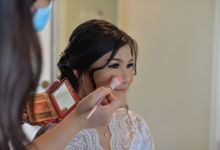 Wedding Day Ms. Ariani by Nike Makeup & Hairdo
