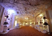 bram & kalista decoration wedding reception by Our Wedding & Event Organizer