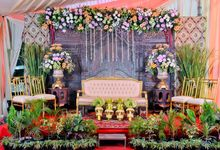 Contoh Dekorasi Tradisional by Mezuira MakeUp & Hijab Style