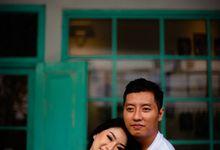 Prewedding Anggi & Lucky by garlick photo