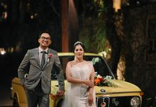 Dinner Party Cacca  & Andika by Avinci wedding planner