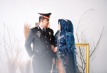Dinda & Dien Post Wedding Session by martialova photoworks