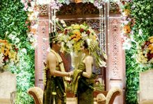 Jodisthy Rimashanti darmitadewi & Enggar jalutomo Reception by Our Wedding & Event Organizer