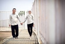 Nisrina & Andhika's Couple Session by RF Production