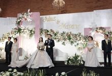 Wedding of Julius & Mayang by CoolWater Decoration & Event Planner