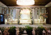 The Wedding of Marvin & Marcela - Damai Indah Golf PIK by The Swan Decoration
