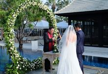 Wedding The Royal Santrian by The Royal Santrian Luxury Beach Villa