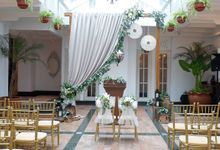 The Wedding of Jusuf & Aifung by Alleka Design