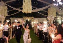 The Wedding at The Royal Santrain by The Royal Santrian Luxury Beach Villa