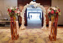 The Wedding of Christoforus & Grace by Alleka Design