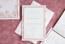 Dreamy Flower Wedding Invitation by Jessica Patricia