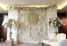 The Wedding of Reynardi & Yoana - Mandarin Oriental by The Swan Decoration