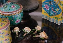 Rumah Luwih Engagement Dinner by Bali Flower Decor
