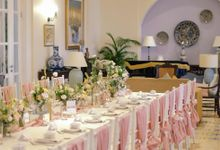 Rumah Luwih Engagement Dinner by Bali Flower Decor
