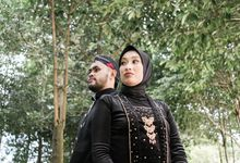 Couple Session of Arif & Ayu (Javanesse Modern) by Agah Harsa Photo