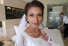 Makeup for Mrs Devya and Jackson Wedding by Maretta Hana MUA
