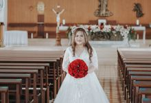 Wedding of Corry & Orlando by Elina Wang Bridal