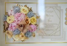 Ann&Melvin Wedding Preserved Wedding Bouquet by Gideon Hermosa by Camila V Flower Preservation Studio
