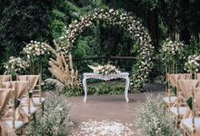 Wedding at Riverside by Bali Flower Decor