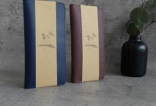 Passport Case For Ryan & Fania by Gemilang Craft