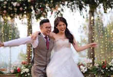Nita & Edwin Wedding At PineHill Cibodas by Josh & Friends Entertainment