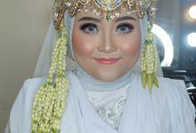 Dinni & Kadar Wedding by Nayah Make Up Artist