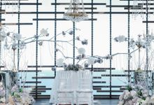 Classic Sophisticated for Franky & Pauline at Alila Uluwatu by Designmill co.