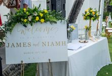 Wedding of James and Niamh 14 March 2019 by PMG Hotels & Resorts