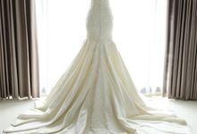 Mermaid Gown Detail by La Sposa