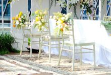 Intimate Wedding Nina and Reza at Damsole Pool Bar Surabaya Novotel Samator by Kalea Design