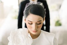 The Wedding of Jill Gladys & Billy by Yumi Katsura Signature