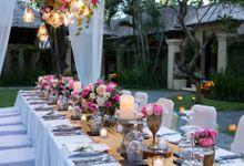 Kayumanis Garden Dinner Reception by Kayumanis Sanur Private Villa & Spa