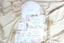 PEACH WEDDING by Mille Paperie