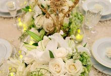 Pure White & Gold by Royal Design Indonesia