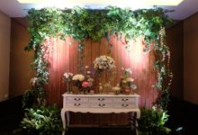 The Wedding of Melissa & Ossy by The Swan Decoration