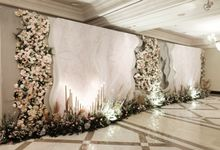William & Devie - Grand Hyatt Jakarta by The Swan Decoration