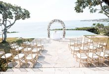 Wedding at Bayuh Sabbha in Uluwatu by Bali Tie d' Knot