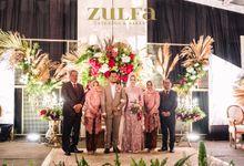 Wulan & Haidar - 26 Januari 2019 - Puri Suryalaya by Zulfa Catering