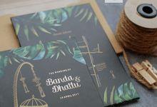 Banda & Dhatu - Simple Weddingcard with Ethnic Theme by Jogja Wedding Net