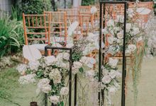 The Wedding of Ayutya and Panji by Bali Flower Decor