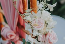 Blush Pastel Wedding by Bali Flower Decor
