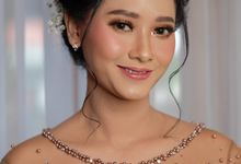 The Wedding of  Kiki & Sulthon by Mayrindra Makeup Artist