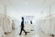 OUR SHOWROOM (PONDOK INDAH & KEDOYA) by The Dresscodes Bridal