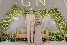 Wedding of Ghafiq & Nenes by Minity Catering