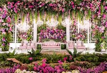 Noha & Rifki Wedding by Amarillis Floral and Party Decorator